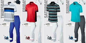 Rory McIlroy's apparel for 2013 PGA Championship