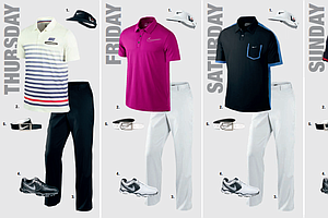 Scott Jamieson's scripted apparel for the 2013 PGA Championship.