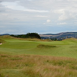The third hole at Castle is a par 3 and is named for the cathedral in the background at St. Andrews. The St. Rule is the tower in the St. Andrews cemetary where both Old and Young Tom Morris are buried.
