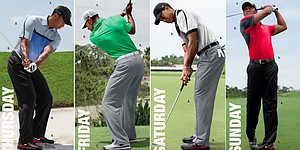 Tiger Woods' apparel for 2013 PGA Championship