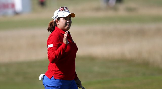 Inbee Park during the 2013 Women's British Open at St. Andrews.