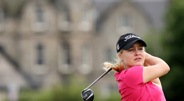 Charley Hull will miss the cut at the 2013 Women's British Open.