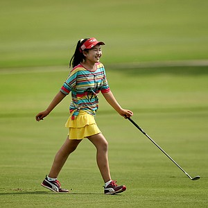 Lucy Li, is the youngest player in the championship field, at 10 years old, at the 2013 U. S. Women's Amateur at Country Club of Charleston. Li is the youngest competitor in championship history.