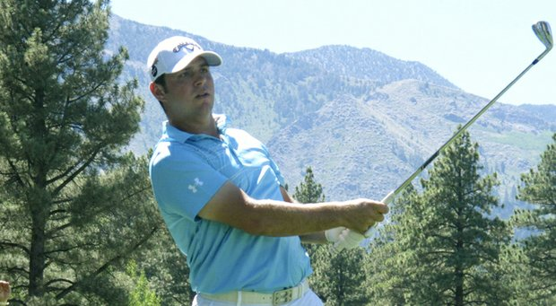 Gary Woodland during the 2013 Reno-Tahoe Open.