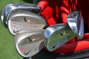 Rory McIlroy will defend his PGA Championship crown using these Nike VR Pro Blade irons and VR Pro wedges.