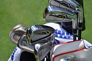 Charlie Beljan created his iron set by blending 588 MT long irons with 588 TT mid-irons and Forged 588 CB short irons.