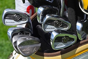 Ken Duke won his first PGA Tour event, the Travelers Championship in June, using these TaylorMade Forged MC irons and Fourteen RM wedges.