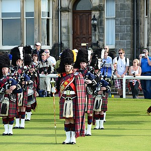 The pageantry at the 2013 Women's British Open at St. Andrews.