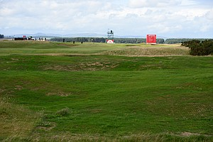 Gorse was removed from the seventh hole at St. Andrews.
