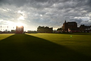 St. Andrews before the final round of the 2013 Women's British Open.