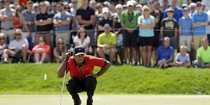 Tiger leads oddsmakers' lists to win PGA