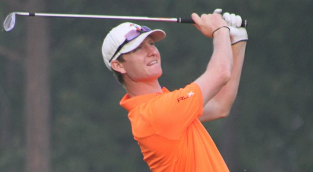 Jordan Niebrugge during his win in the 2013 Western Amateur.