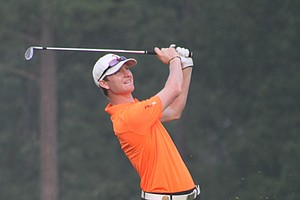 Jordan Niebrugge during his win at the 2013 Western Amateur.