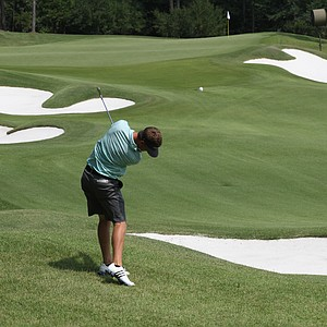 Sean Dale during his runner-up finish at the 2013 Western Amateur.