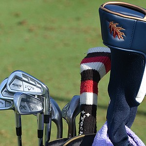 Jim Furyk uses a set of Callaway RAZR X Forged irons.