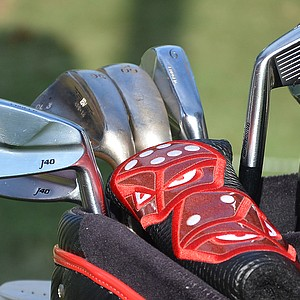 Davis Love, who won the 1997 PGA Championship at Winged Foot, is playing Bridgestone J40 Muscleback irons.