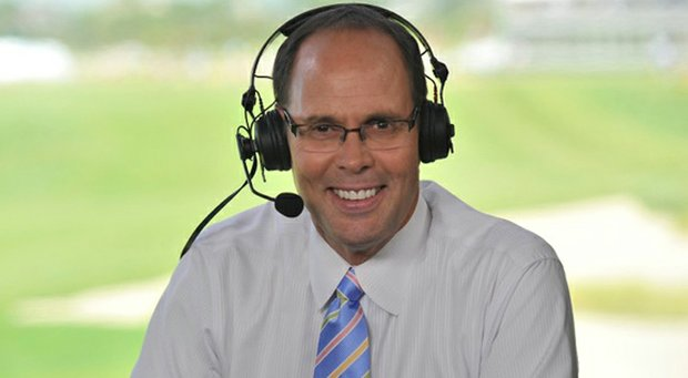 TNT's Ernie Johnson will broadcast the PGA Championship from Oak HIll.