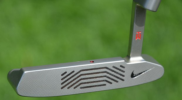 Tiger Woods' putter is a Nike Method 001.