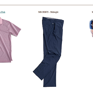 Bill Haas' apparel for Thursday at the 2013 PGA Championship.