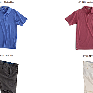 Bill Haas' weekend apparel at the 2013 PGA Championship.