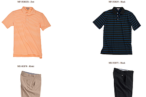 Branden Grace's scripted apparel for Thursday and Friday at the 2013 PGA Championship.