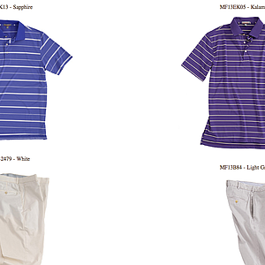 Branden Grace's weekend apparel for the 2013 PGA Championship.