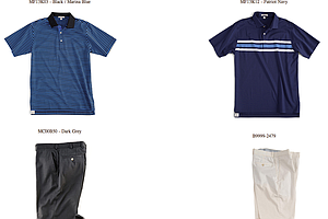 Harris English's Thursday and Friday scripted apparel for the 2013 PGA Championship.