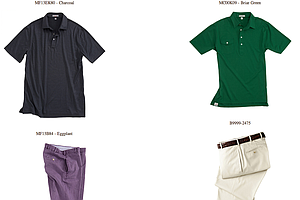 Harris English's weekend apparel for the 2013 PGA Championship.