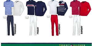 Keegan Bradley's apparel for 2013 PGA Championship
