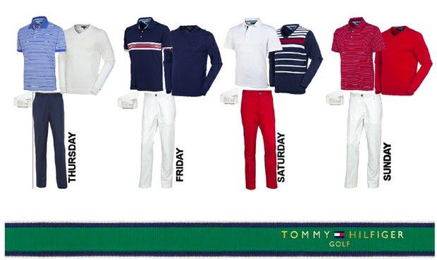 Keegan Bradley's apparel for the 2013 PGA Championship