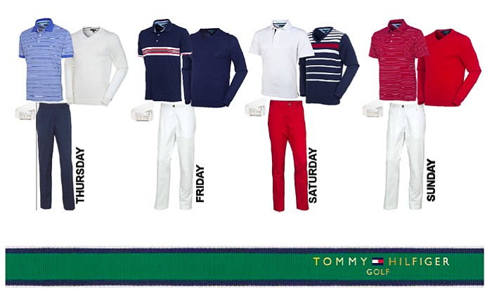 Keegan Bradley's apparel for the 2013 PGA Championship
