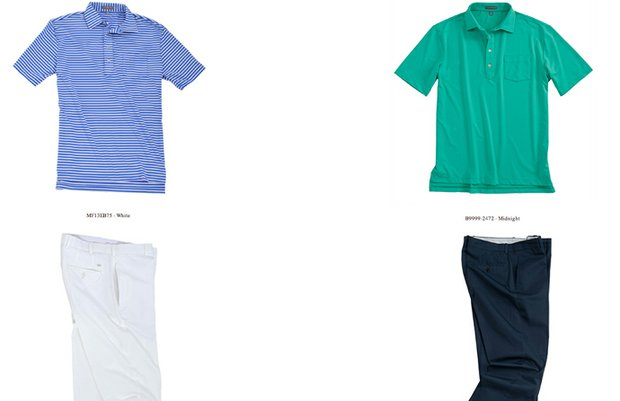 Brandt Snedeker's scripted apparel for Thursday and Friday at the 2013 PGA Championship.