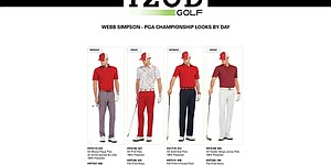 Webb Simpson's apparel for 2013 PGA Championship
