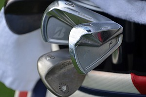 Brandt Snedeker has won two PGA Tour events this season using these Bridgestone J40 Cavity Back irons.