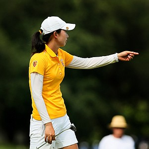 Doris Chen defeated Minjee Lee during the Round of 16 match play at the 2013 U. S. Women's Amateur. Chen will face Lauren Diaz-Yi in the quarterfinals.