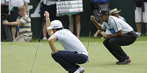 PGA Championship: Tee times, second round