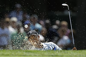 Tiger Woods during the first round of the 2013 PGA Championship at Oak Hill in Rochester, N.Y.