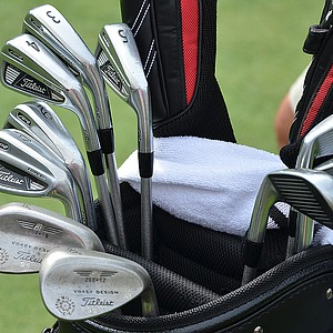 Steve Stricker plays Titleist 710 AP2 irons.