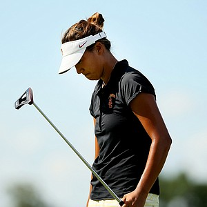 Annie Park, the 2013 NCAA individual champion, fell to Yueer Cindy Feng during the quarterfinals of match play at the 2013 U. S. Women's Amateur at Country Club of Charleston.