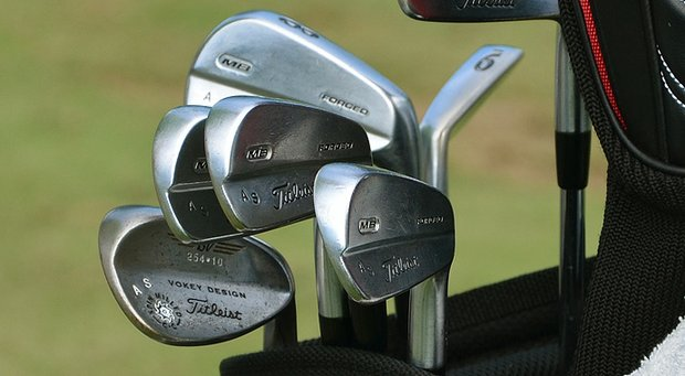 A look at Adam Scott's equipment he used to go 7 under through the first 36 holes at the PGA Championship.