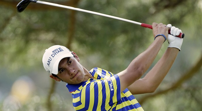 Matteo Manassero during the 2013 U.S. Open.