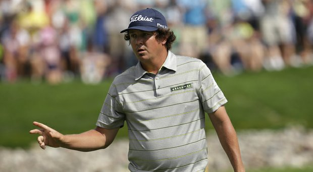 Jason Dufner during the second round of the 2013 PGA Championship at Oak Hill, where he shot 63 to tie the all-time low for a round in one of golf's four majors.