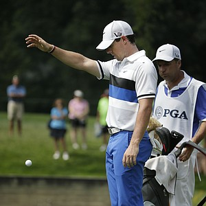 Rory McIlroy during the 2013 PGA Championship at Oak Hill.