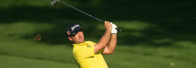 Graeme McDowell during the 2013 PGA Championship at Oak Hill.