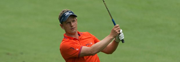 Luke Donald during the 2013 PGA Championship at Oak Hill.