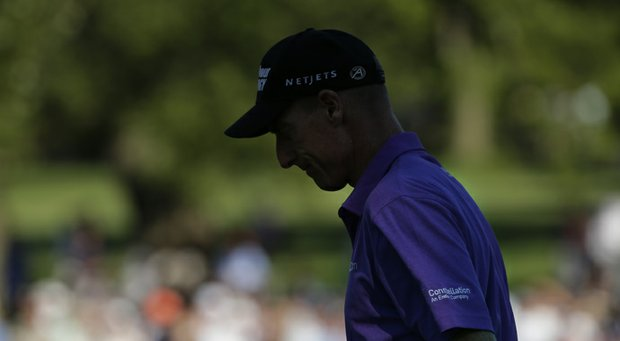Jim Furyk during the 2013 PGA Championship at Oak Hill.