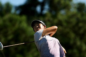 Yueer Cindy Feng during the final round of match play at the 2013 U. S. Women's Amateur at Country Club of Charleston.