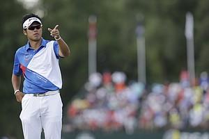 Hideki Matsuyama during the final round of the 2013 PGA Championship.