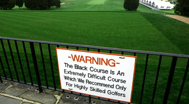 The Black course at Bethpage State Park in New York will play host to a Ryder Cup.
