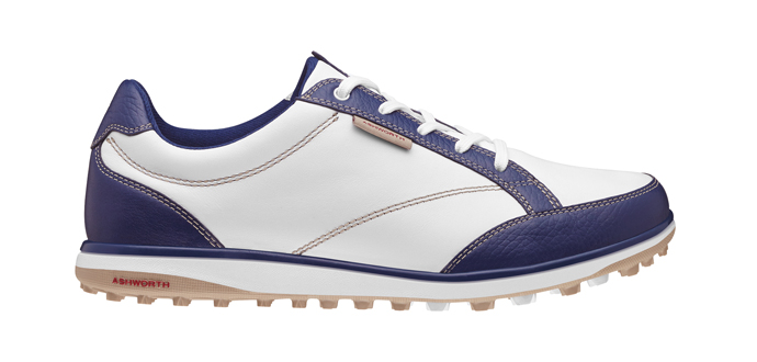 Ashworth Golf's Cardiff ADC spikeless golf shoe for women.
